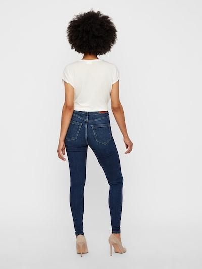 VERO MODA Skinny Fit Jeans 'Sophia' in blue denim: Rückansicht
