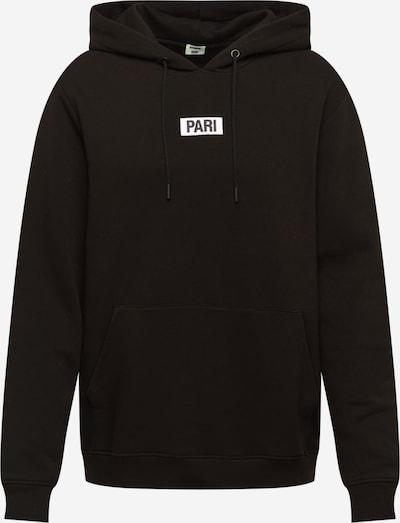 PARI Hoodie 'Mick' in schwarz / weiß, Produktansicht