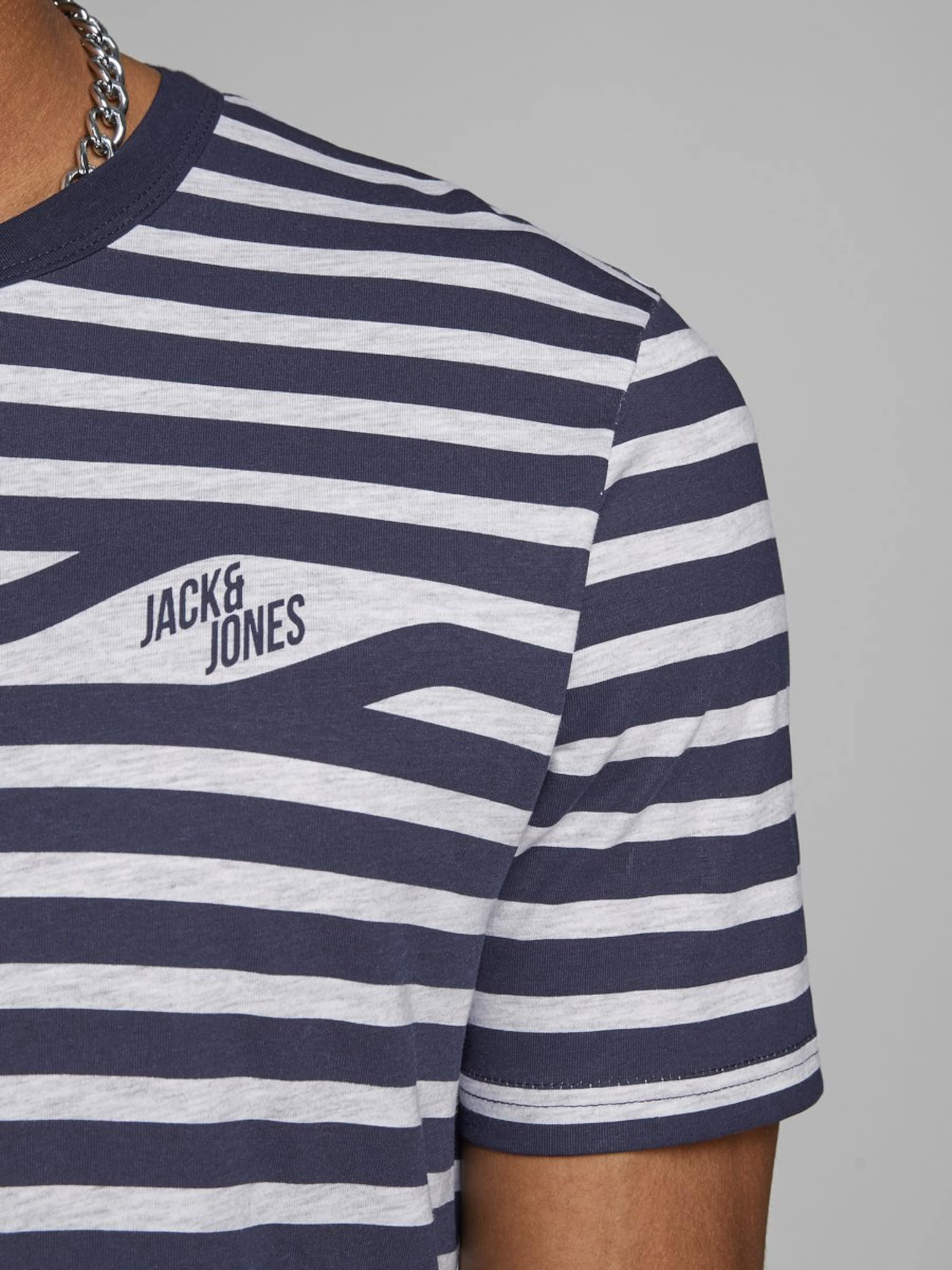 T Chiné MarineGris shirt Jackamp; Jones En odxCrBe