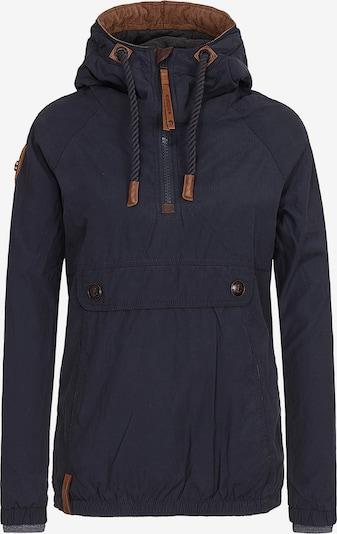 naketano Jacke in dunkelblau, Produktansicht