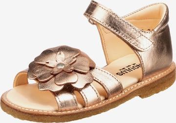 ANGULUS Sandals in Gold