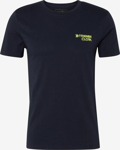 TOM TAILOR DENIM T-Shirt in blau: Frontalansicht