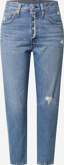 LEVI'S Jean '501® Crop' en bleu, Vue avec produit
