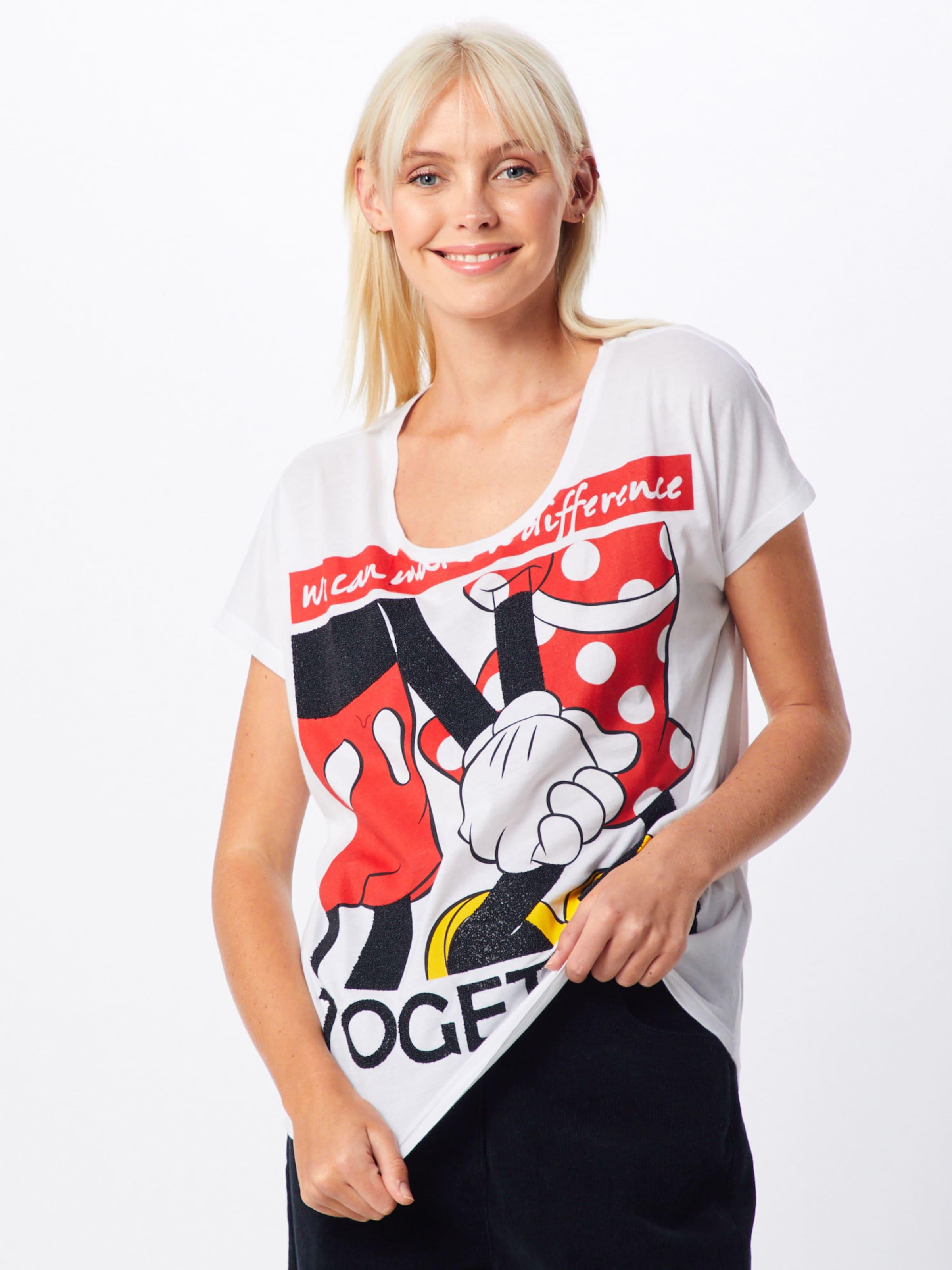 Minnie' In Frogbox RotSchwarz 'mickeyamp; Weiß Shirt f76vYbyg