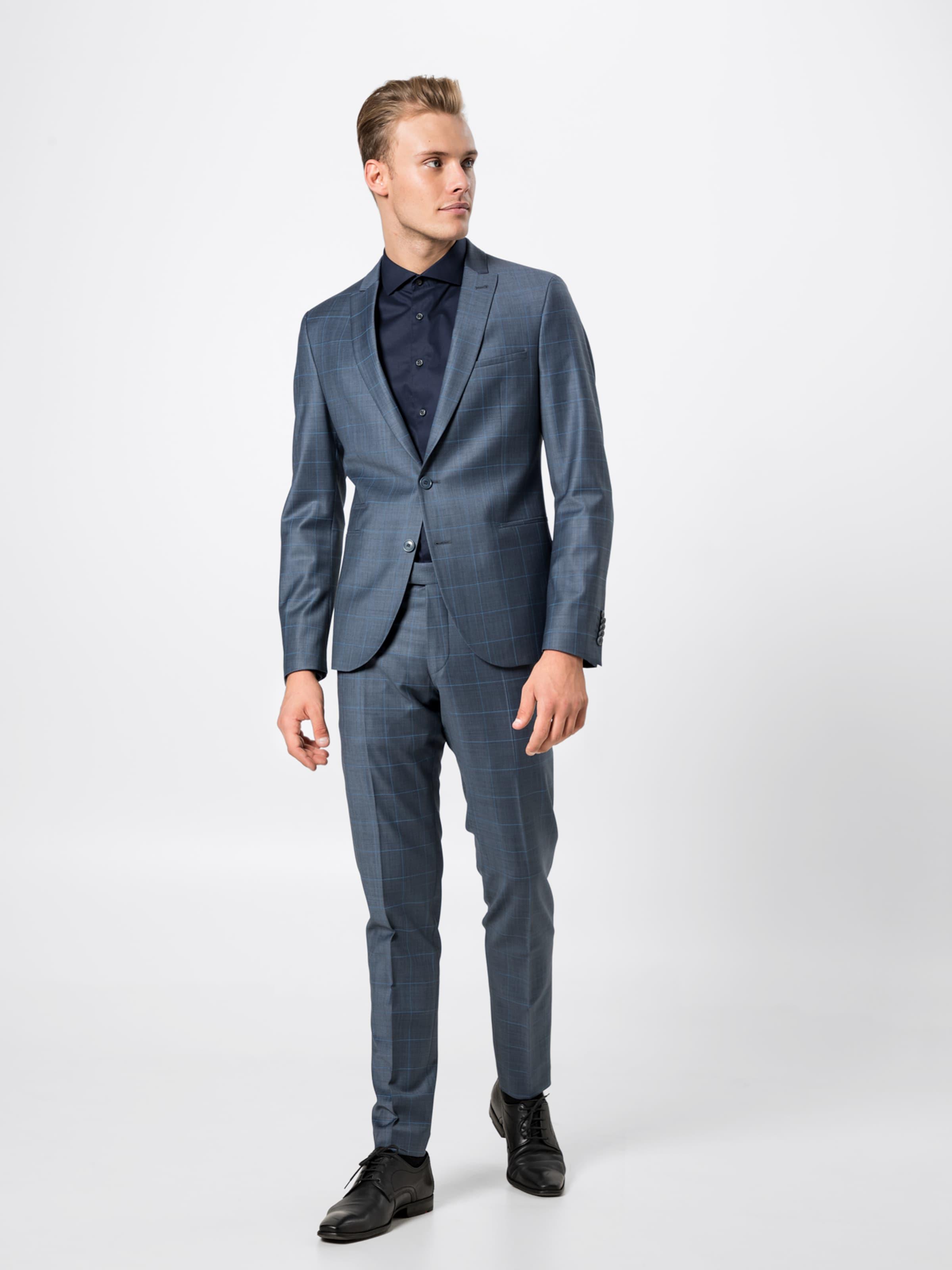 Blau 'p Drykorn In Anzug irving' f7vgY6yb