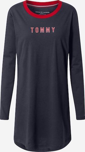 Tommy Hilfiger Underwear Spalna srajca | temno modra / rdeča barva, Prikaz izdelka