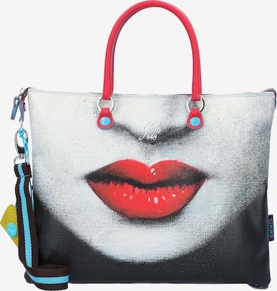 Gabs Handtasche 'Trip G3 Plus' in aqua / grau / rot / schwarz, Produktansicht