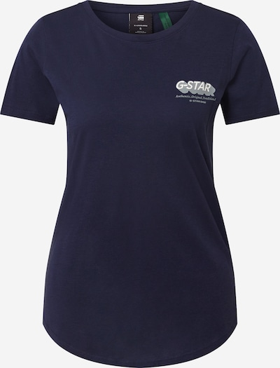 G-Star RAW Shirt 'Graphic' in de kleur Donkerblauw, Productweergave