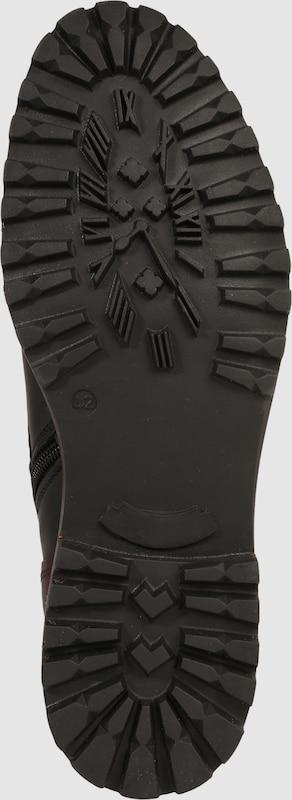 BULLBOXER Schnürstiefel aus Leder mit Details