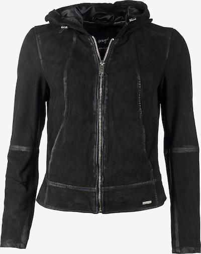 Maze Lederjacke  'Donie' in schwarz, Produktansicht
