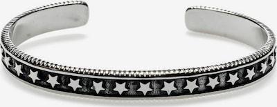 ROYAL-EGO Armspange 'Sterne' in schwarz / silber, Produktansicht