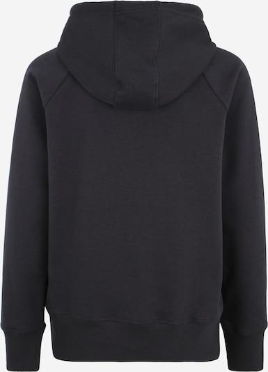 UNDER ARMOUR Sportief sweatshirt in de kleur Zwart / Wit: Achteraanzicht