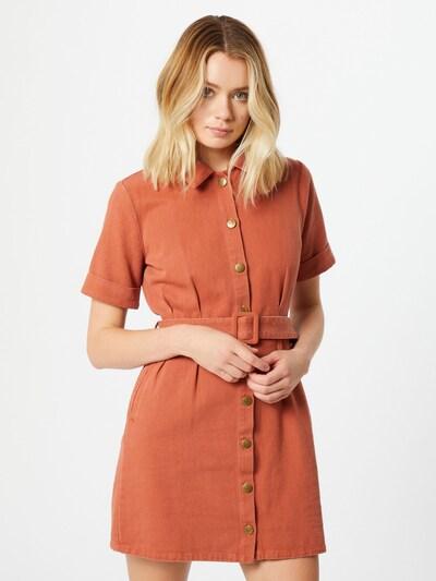 MINKPINK Robe-chemise 'Residence' en orange: Vue de face