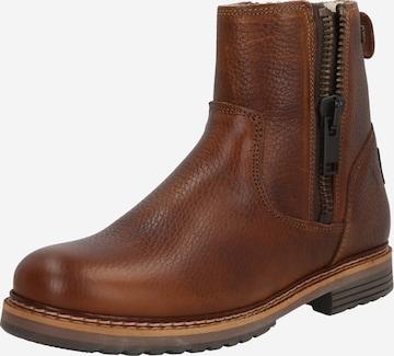 BULLBOXER Booties in Brown
