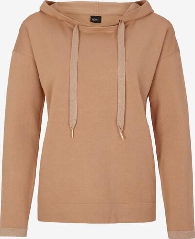 s.Oliver BLACK LABEL Pullover in hellbraun, Produktansicht