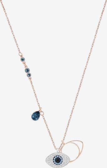 Grandinėlė iš Swarovski , spalva - mėlyna / rožinio aukso spalva / Sidabras, Prekių apžvalga