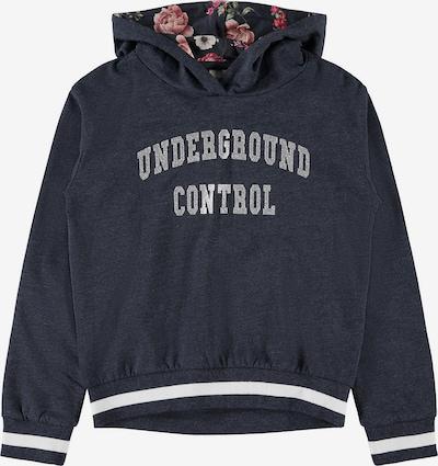 NAME IT Sweatshirt 'NKFOBENE' in nachtblau / oliv / altrosa / silber / weiß, Produktansicht