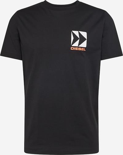 DIESEL Shirt in schwarz, Produktansicht