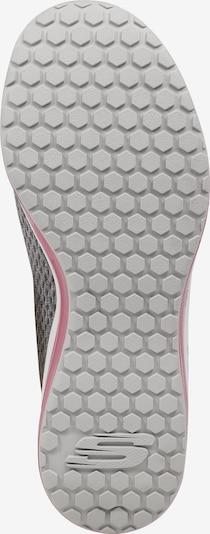 Sneaker low 'SKECH-AIR ELEMENT' SKECHERS pe gri / roz: Privire de sus
