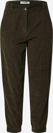 Kelnės su kantu 'Frea' iš MOSS COPENHAGEN , spalva - tamsiai žalia, Prekių apžvalga