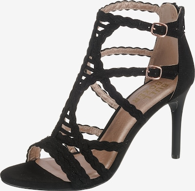 BULLBOXER Sandały z rzemykami w kolorze czarnym, Podgląd produktu