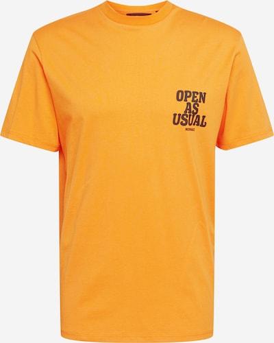 Mennace T-Shirt 'Community' in orange, Produktansicht