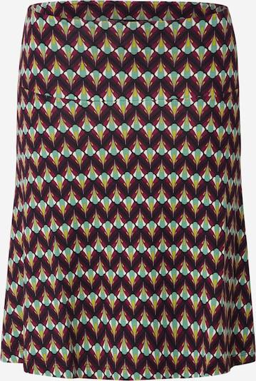 King Louie Sukňa 'Border Namaste' - mätová / farba lesného ovocia / zmiešané farby, Produkt