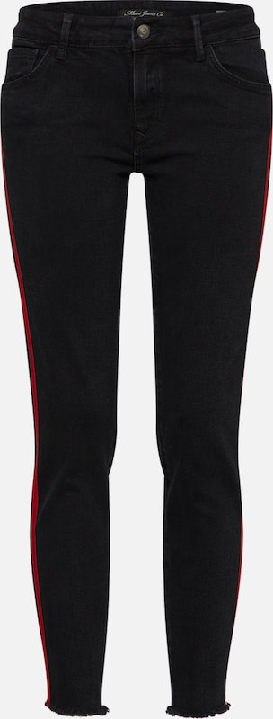 Mavi Jeans 'Adriana' in schwarz denim  Freizeit, schlank, schlank schlank schlank 89e074