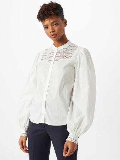 Custommade Chemisier 'Ellena' en blanc, Vue avec modèle