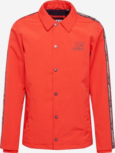 Superdry Tussenjas 'Cadence Coach' in de kleur Oranjerood, Productweergave