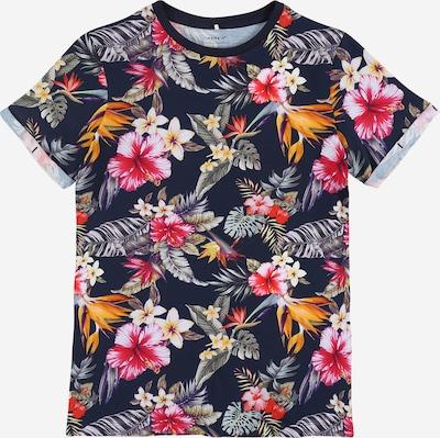 NAME IT Shirt 'NKMJOBBANI' in dunkelblau / mischfarben, Produktansicht