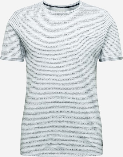 Q/S designed by Shirt in de kleur Zwart / Wit, Productweergave