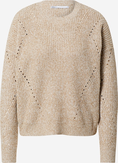 ONLY Pullover 'Maja' in stone, Produktansicht