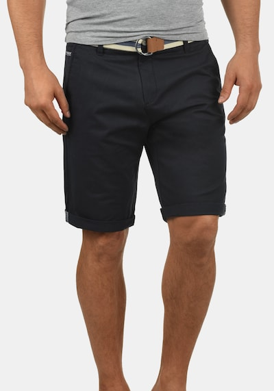 !Solid Chinoshorts 'Monty' in schwarz, Produktansicht