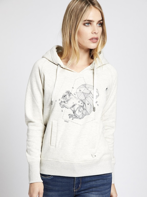 khujo Sweatshirt 'SANTJA WITH PRINT'