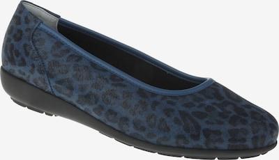 Natural Feet Ballerina in de kleur Blauw, Productweergave