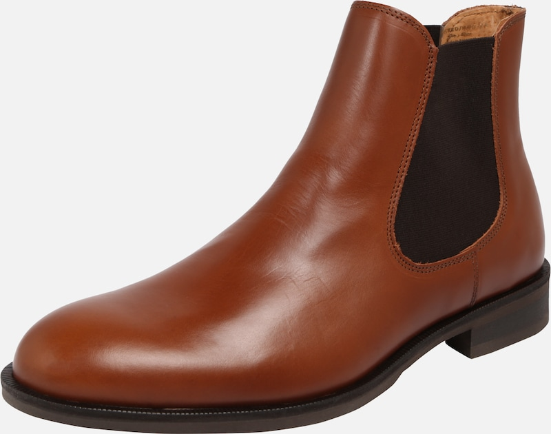 SELECTED HOMME Stiefel in cognac, Produktansicht