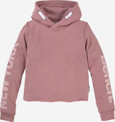 BENCH Kapuzensweatshirt in altrosa, Produktansicht