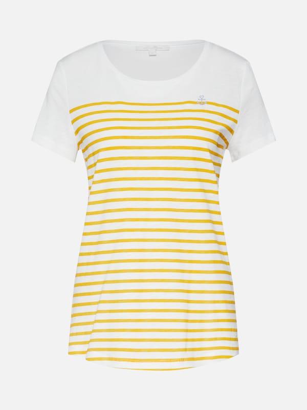 Denim En Tom Blanc T shirt Jaune Tailor x5PpHaqw0