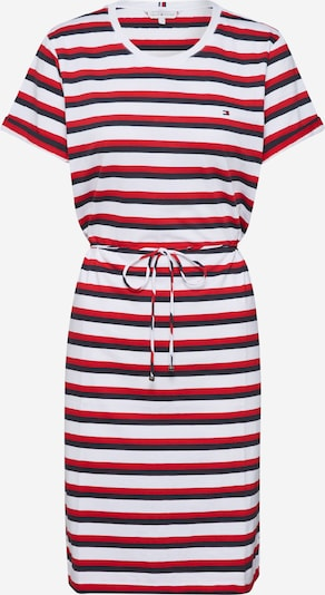 TOMMY HILFIGER Kleid 'Angela' in kobaltblau / rot / weiß, Produktansicht