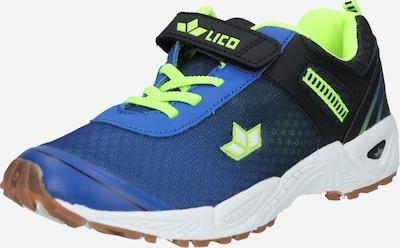 LICO Sneaker 'Barney VS' in blau / limone / kiwi / schwarz, Produktansicht