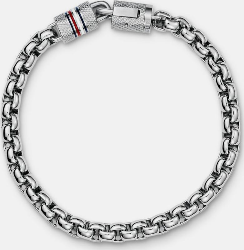 TOMMY HILFIGER Edelstahlarmband 'Casual Core, 2700996'