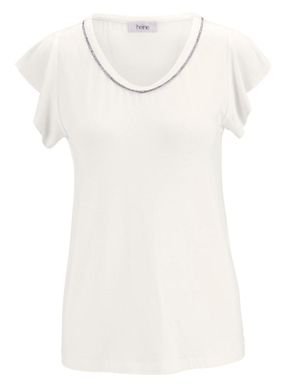 Heine Blanc Heine T T En shirt TTHXqw