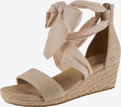 UGG Sandaletten 'Trina' in beige, Produktansicht