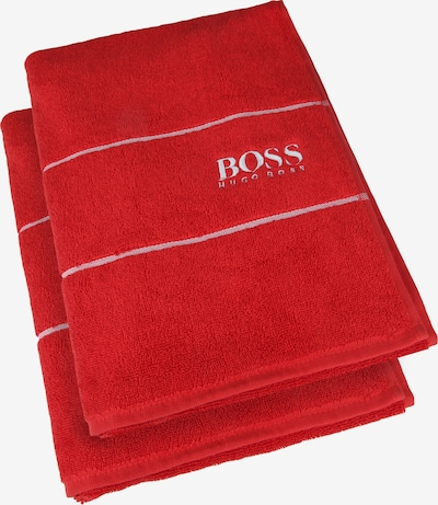 BOSS Home Gästehandtuch 'Plain' in rot, Produktansicht