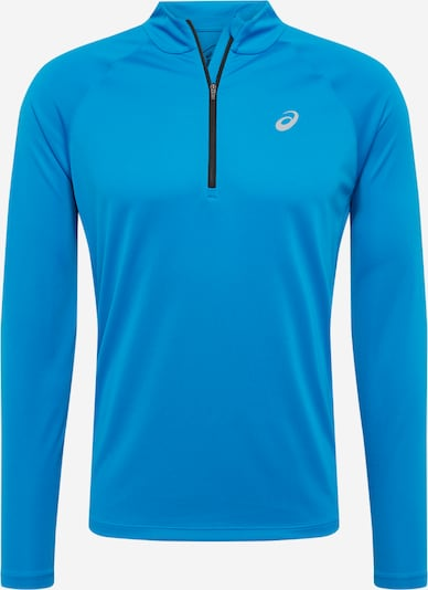 ASICS Sweat de sport en bleu / noir, Vue avec produit