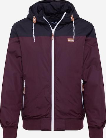 Iriedaily Prechodná bunda - fialová