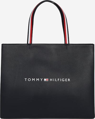 TOMMY HILFIGER Shopper 'TOMMY' in de kleur Blauw / Rood / Wit, Productweergave