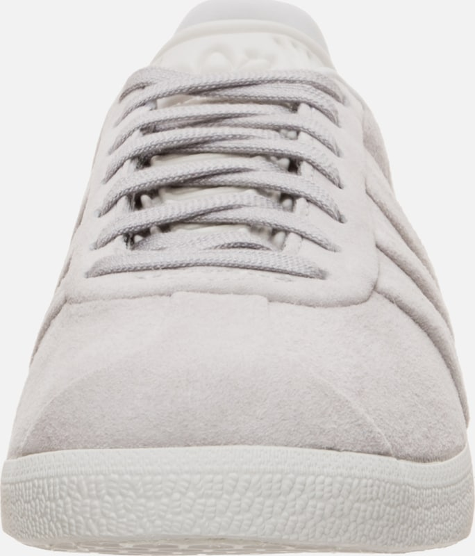 Grijs Adidas 'gazelle Turn' Sneakers And In Laag Originals Stitch HIE9YDW2