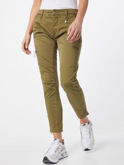 MAC Hose 'Rich' in khaki, Modelansicht